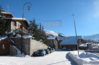 Vistas de las proximidades Alquiler Chalet 111406 Les Menuires