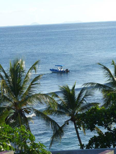 Vistas desde el alojamiento Alquiler Villa 116237 Saint Francois