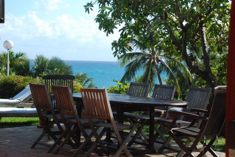 Vistas desde la terraza Alquiler Villa 116237 Saint Francois