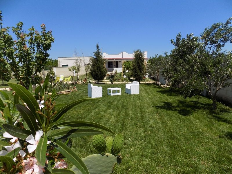 Jardín Alquiler Villa 86213 Ugento - Torre San Giovanni