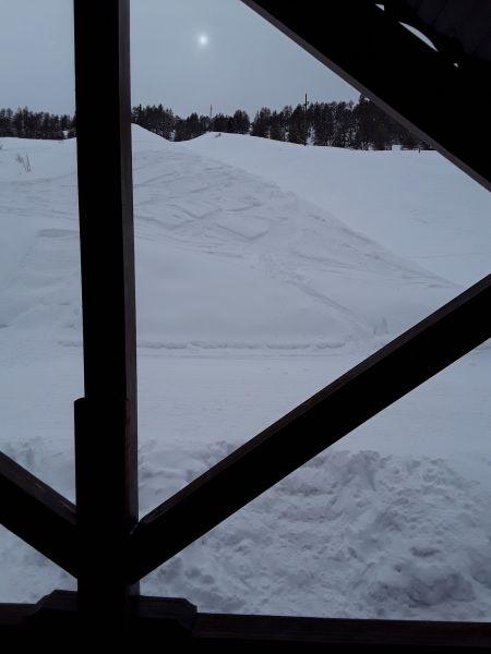 Vistas desde el alojamiento Alquiler Chalet 111824 Risoul 1850