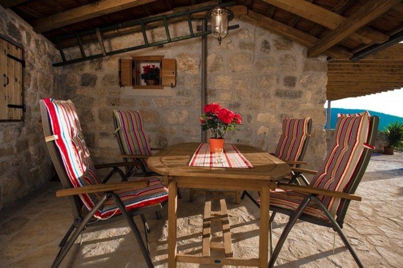 Terraza Alquiler Casa 112560 Trogir