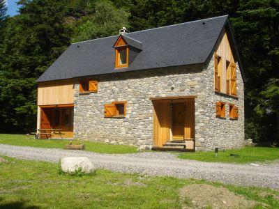 Vistas exteriores del alojamiento Alquiler Casa rural 67181 Saint Lary Soulan