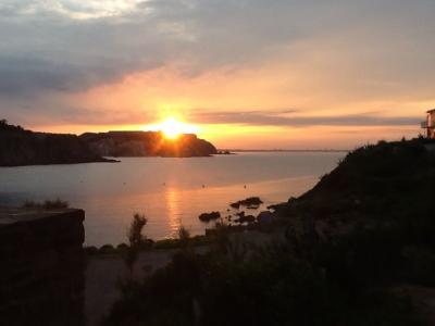 Vistas desde la terraza Alquiler Apartamento 68403 Collioure