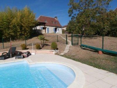 Piscina Alquiler Casa 92831 Rocamadour