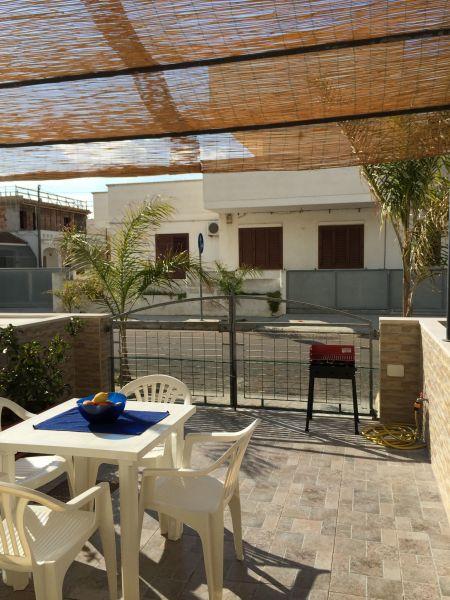 Veranda (Porche) Alquiler Apartamento 97977 Ugento - Torre San Giovanni