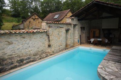 Piscina Alquiler Casa rural 110382 Villefranche de Rouergue