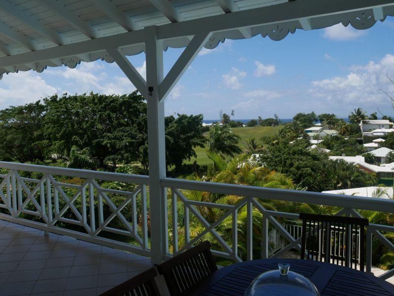 Vistas desde la terraza Alquiler Villa 116772 Saint Francois