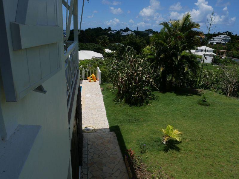 Vistas desde el alojamiento Alquiler Villa 116772 Saint Francois