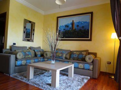 Sal�n Alquiler Apartamento 70577 Marruecos