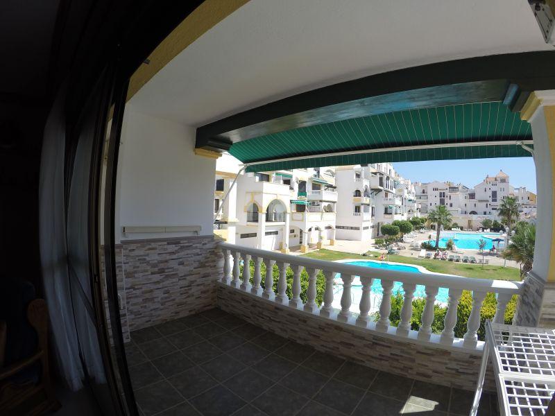Terraza Alquiler Apartamento 73121 Roquetas de Mar
