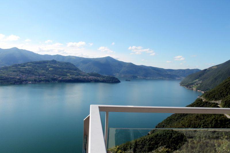 Vistas desde la terraza Alquiler Apartamento 90943 Parzanica
