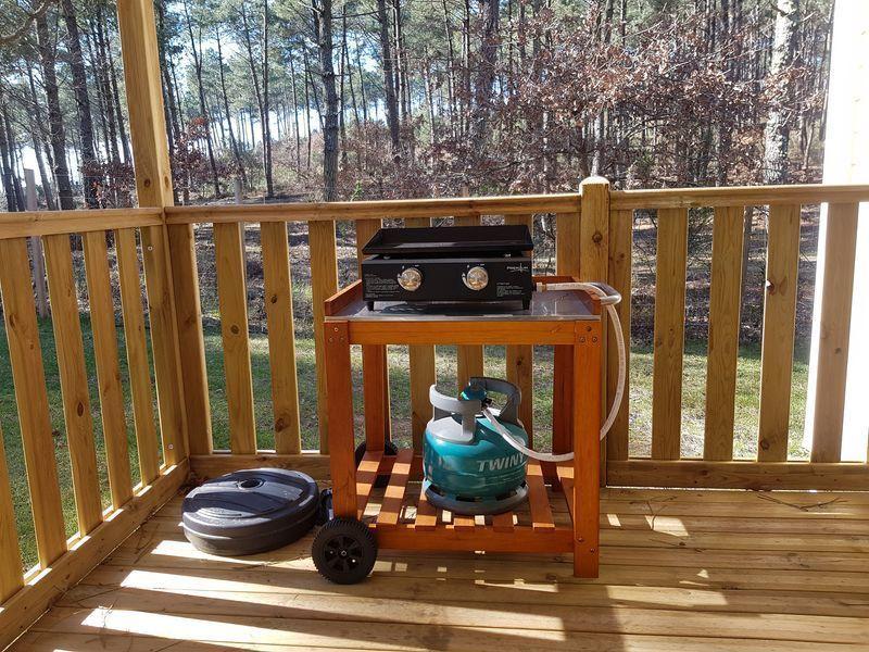 Cocina de verano Alquiler Mobil home 114302 Lit-et-Mixe