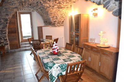 Comedor Alquiler Casa rural 116674 Aussois