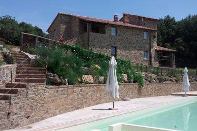 Piscina Alquiler Casa rural 84892 Siena