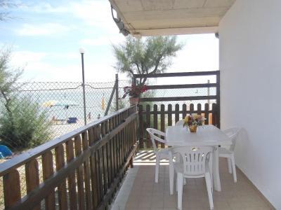 Vistas desde la terraza Alquiler Bungalow 85039 Porto San Giorgio
