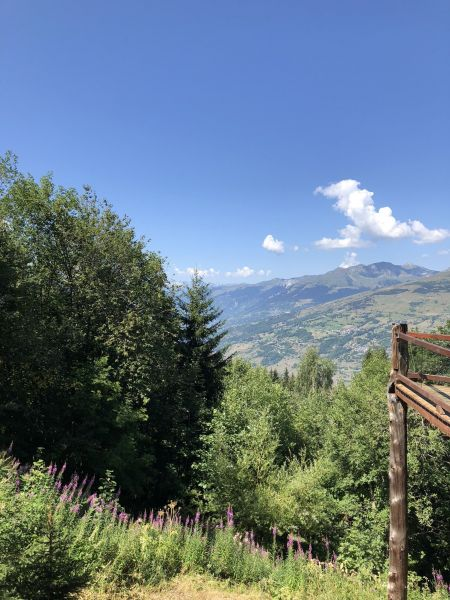 Vistas desde la terraza Alquiler Chalet 89274 Les Arcs