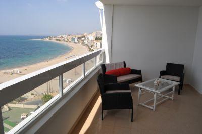 Vistas desde la terraza Alquiler Apartamento 107967 Benidorm