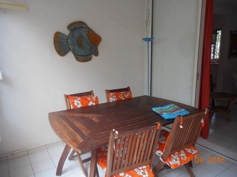 Veranda (Porche) Alquiler Apartamento 86341 Gosier (Guadalupe)