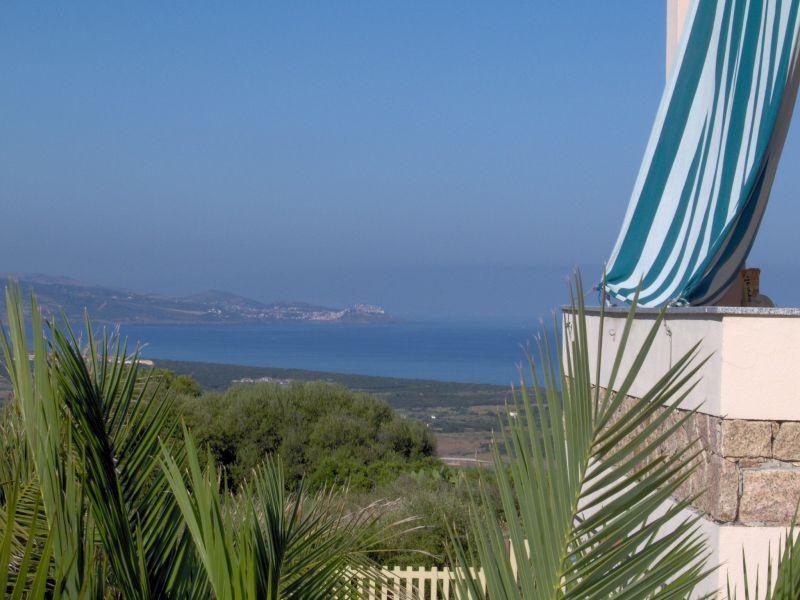 Vistas desde la terraza Alquiler Apartamento 92351 Badesi