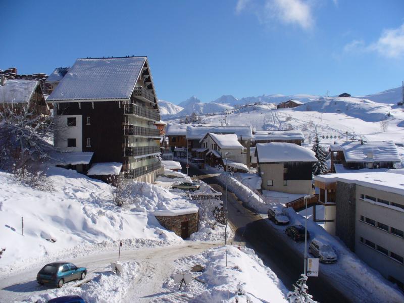 Vistas desde el alojamiento Alquiler Apartamento 64 Alpe d'Huez