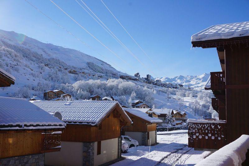 Vistas desde el balcón Alquiler Chalet 100576 Les Menuires
