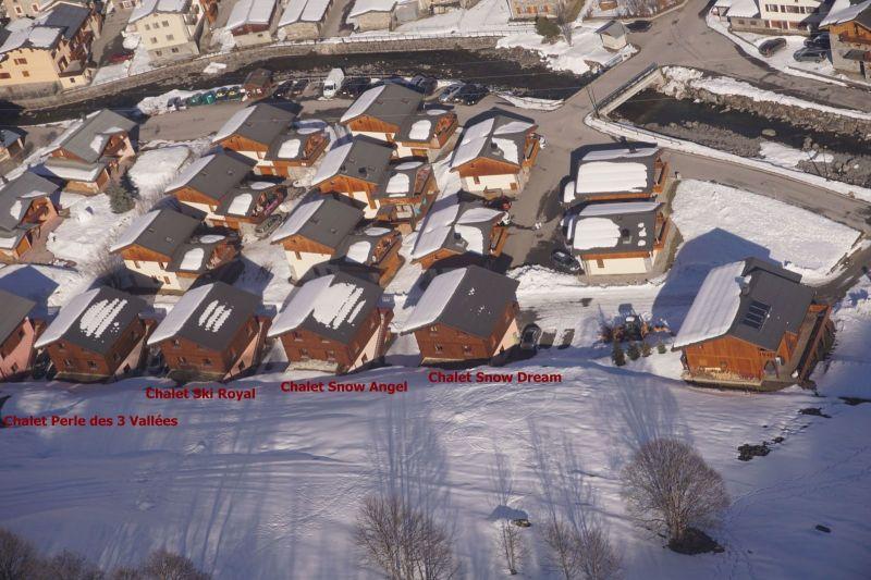 Vistas exteriores del alojamiento Alquiler Chalet 100576 Les Menuires