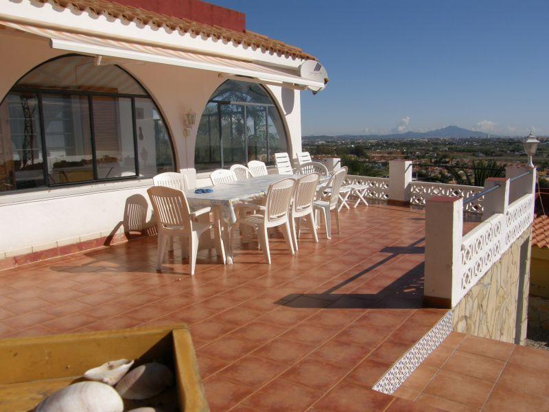 Terraza Alquiler Villa 104138 Peñíscola