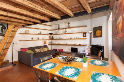 Sala de estar Alquiler Apartamento 107041 Roma