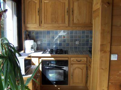 Cocina americana Alquiler Apartamento 108922 Saint-Gervais-les-Bains