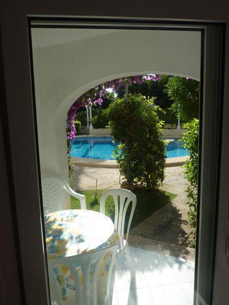 Vistas desde la terraza Alquiler Apartamento 71551 Denia