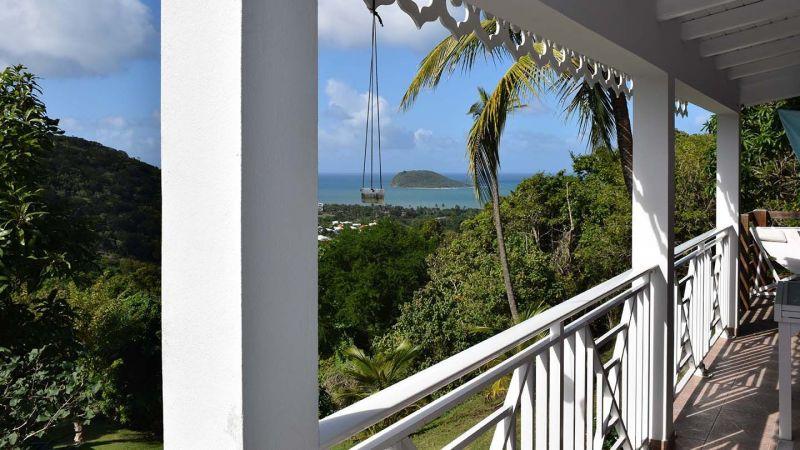 Vistas desde el alojamiento Alquiler Casa rural 73814 Deshaies