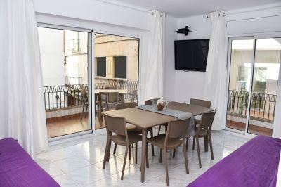 Terraza Alquiler Apartamento 76045 Rosas