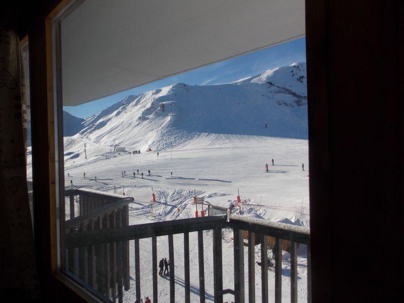 Vistas desde la terraza Alquiler Estudio 79769 La Plagne