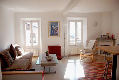 Sala de estar Alquiler Apartamento 81032 Niza