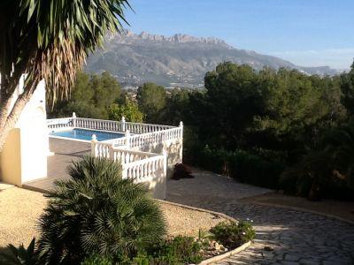 Vistas exteriores del alojamiento Alquiler Villa 87551 Altea