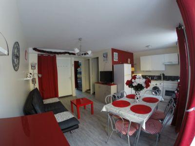 Sala de estar 1 Alquiler Apartamento 101434 Le Mont Dore