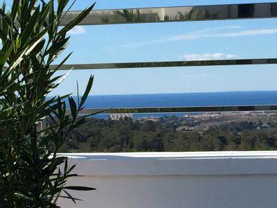 Vistas desde la terraza Alquiler Villa 102368 Benidorm