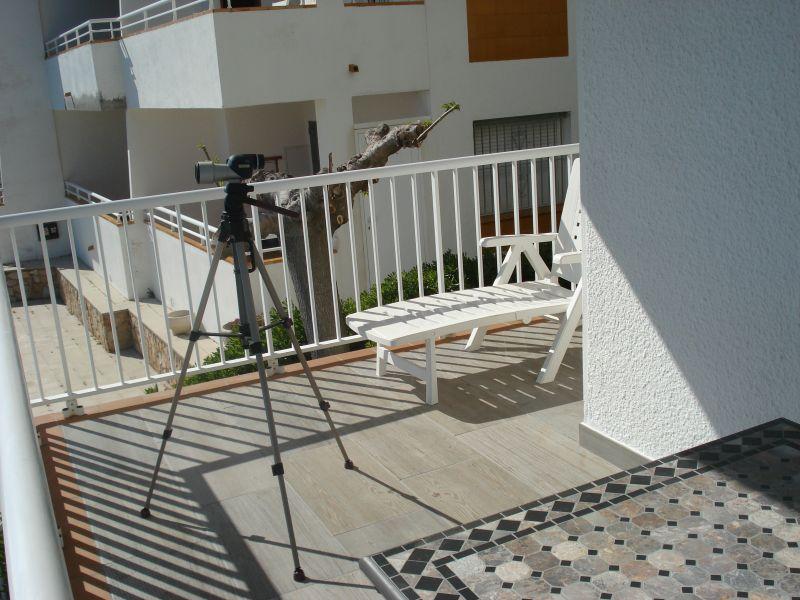 Terraza Alquiler Apartamento 109610 Rosas