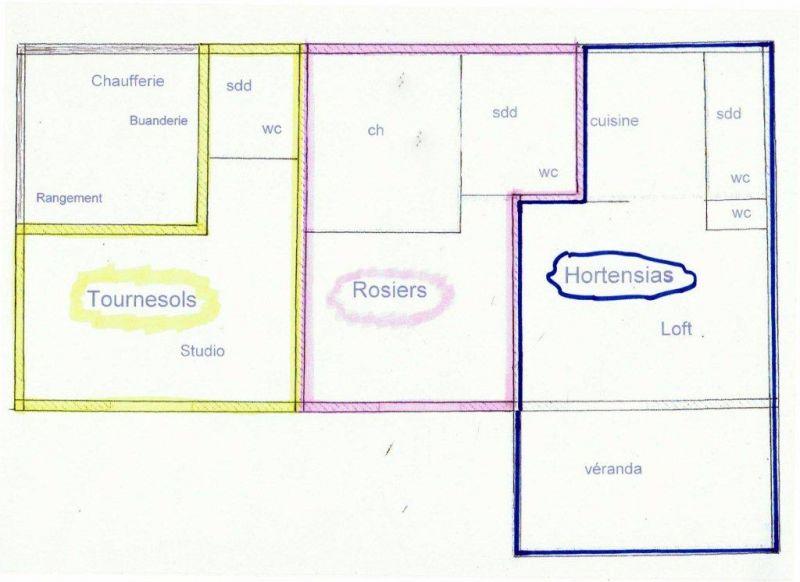 Plano del alojamiento Alquiler Apartamento 72835 Castellane