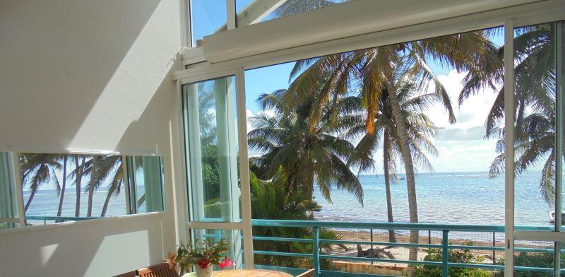 Vistas desde la terraza Alquiler Apartamento 73124 Sainte Anne (Guadalupe)