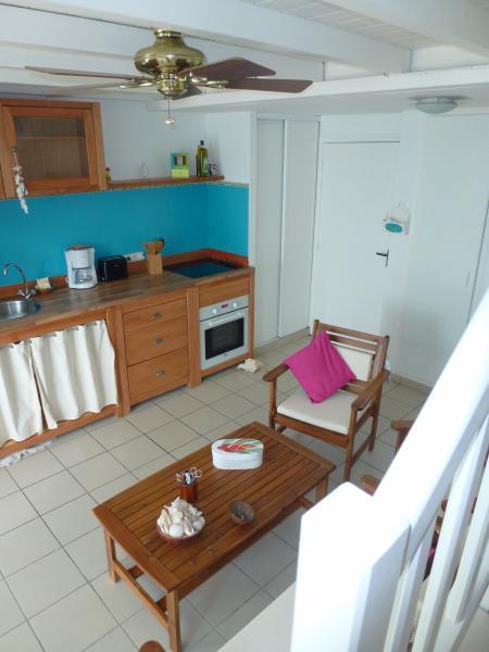 Cocina americana Alquiler Apartamento 73124 Sainte Anne (Guadalupe)