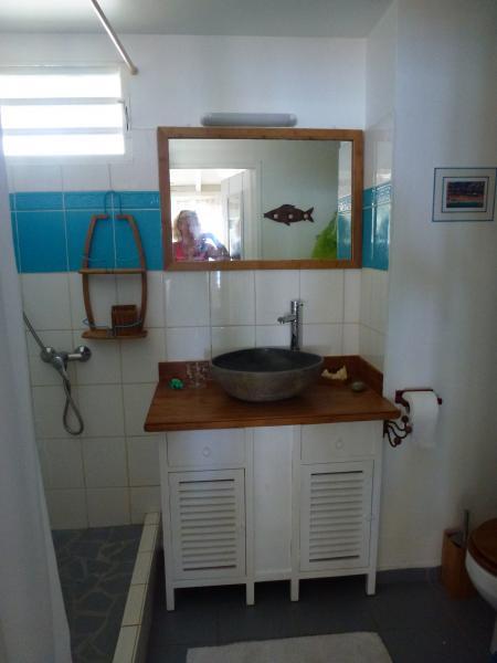 cuarto de baño Alquiler Apartamento 73124 Sainte Anne (Guadalupe)