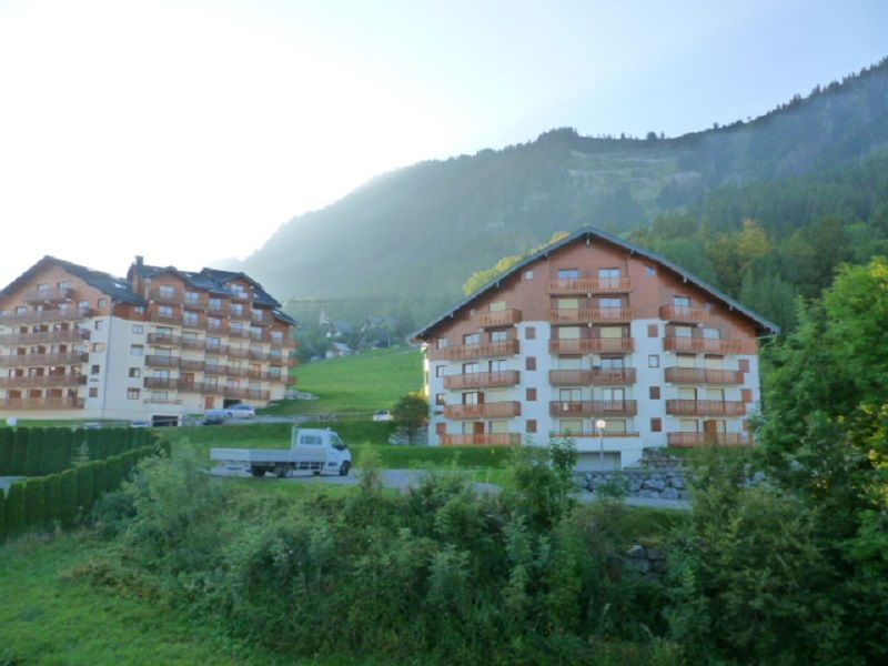 Vistas desde el balcón Alquiler Apartamento 74513 Thollon Les Mémises