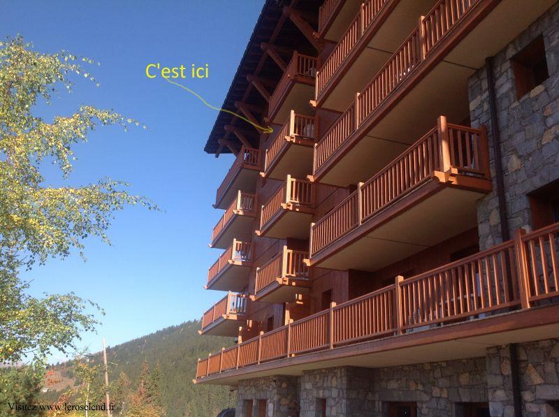Vistas exteriores del alojamiento Alquiler Apartamento 90494 Les Arcs