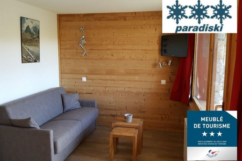Sala de estar Alquiler Apartamento 111920 La Plagne