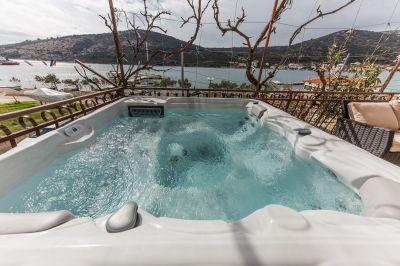 Terraza Alquiler Apartamento 114337 Trogir