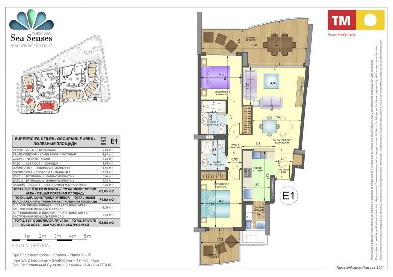 Plano del alojamiento Alquiler Apartamento 118656 Torrevieja