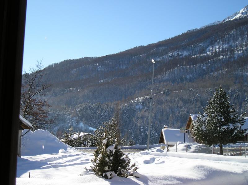 Vistas desde el alojamiento Alquiler Apartamento 78318 Serre Chevalier