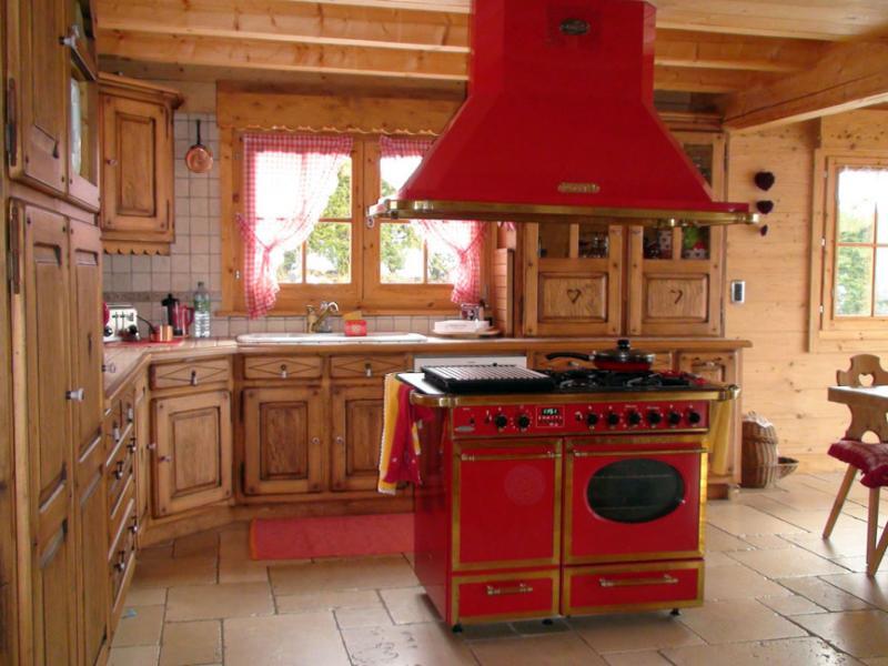 Cocina americana Alquiler Chalet 80673 Saint-Gervais-les-Bains